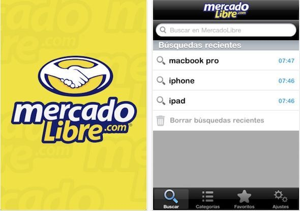Ya se pueden realizar compras en Mercado Libre desde el teléfono móvil