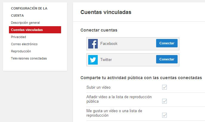 YouTube-vincular