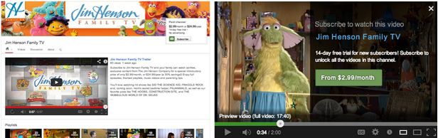 Youtube pago Jim Henson