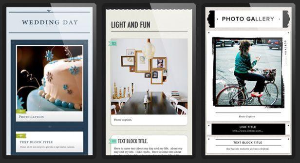 Zapd capturas Zapd, una aplicación para crear mini-blogs desde dispositivos iOS