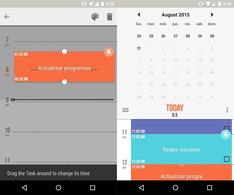 Accomplish organizador y agenda para smartphones