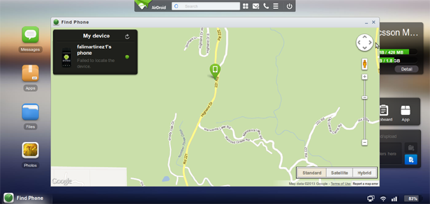 airdroid gps tracking Ya disponible AirDroid 2 Beta con increibles mejoras
