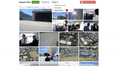 albumorg.001 Google+ integra Google Docs en las quedadas y mejora los álbumes de fotos