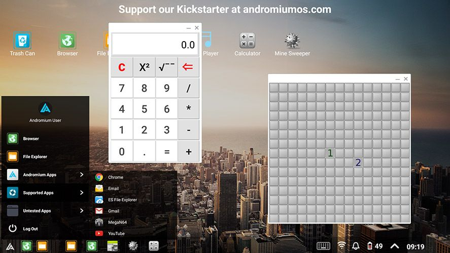 andromium-os-screenshot
