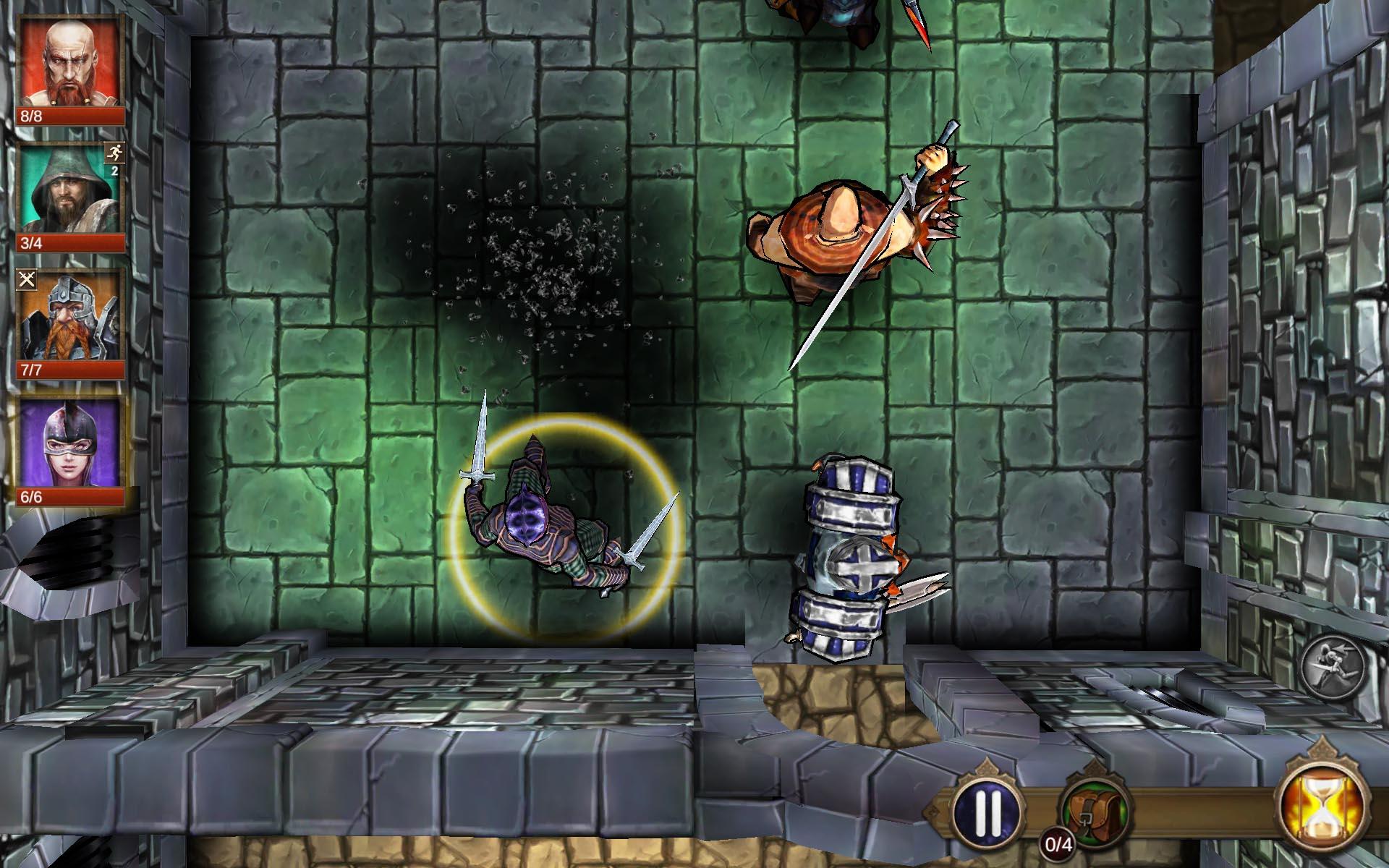 arcane quest screen 2 Arcane Quest, dungeon crawler inspirado en el mítico HeroQuest