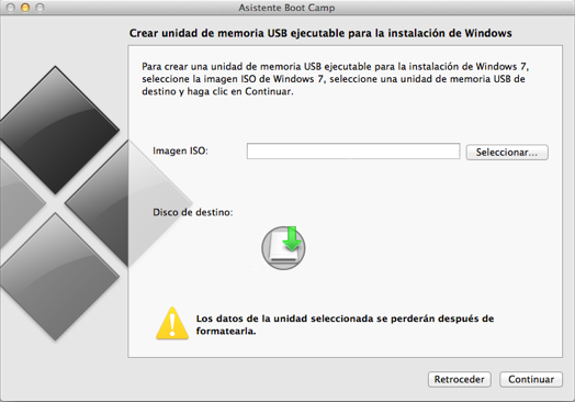 bootcamp23 Instala facilmente Windows en Mac a través de USB