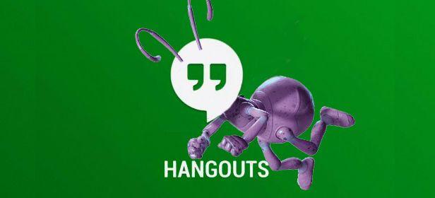 bug en hangouts