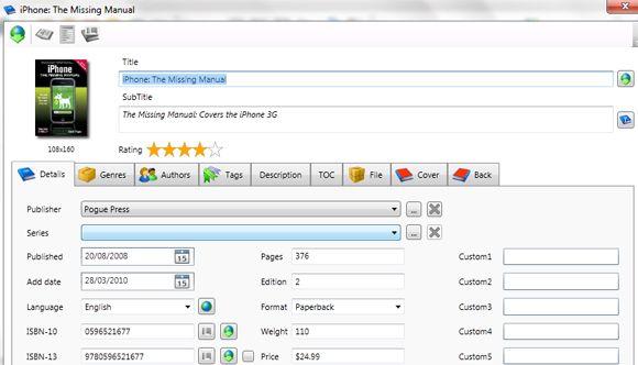 captura 3 Organiza tu biblioteca digital con Alfa eBooks Manager