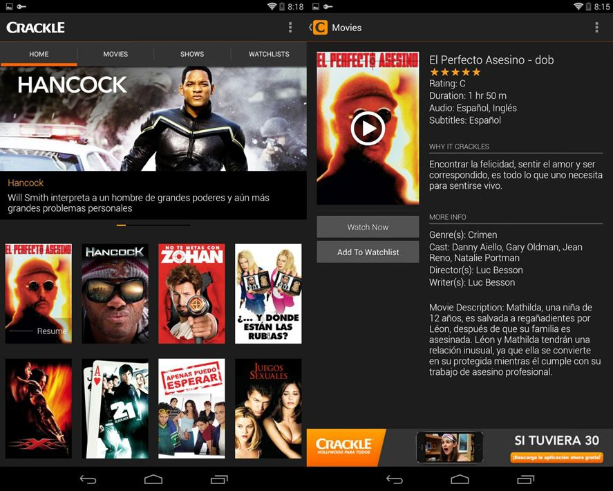 cine-gratis-crackle