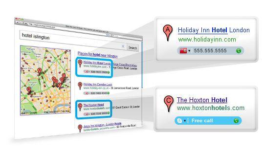 click to call 2 540 Nueva versión de Skype para compartir pantalla