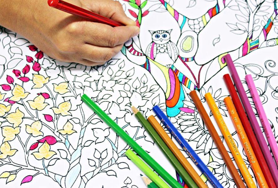 Colorear dibujos adultos Android
