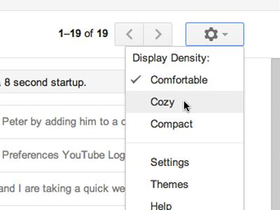 customize Llega la nueva versión de Gmail