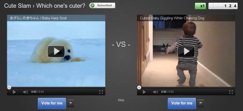 cute slam Vota los mejores vídeos de la semana con YouTube Slam