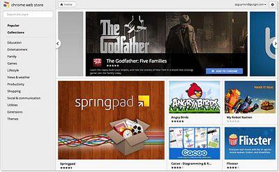 cws image Google lanza Chrome 15 y renueva su tienda
