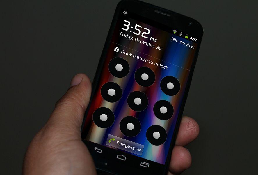 Patron seguridad Android