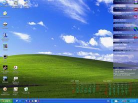 desktop calendar Los mejores fondos de escritorio en movimiento para tu PC