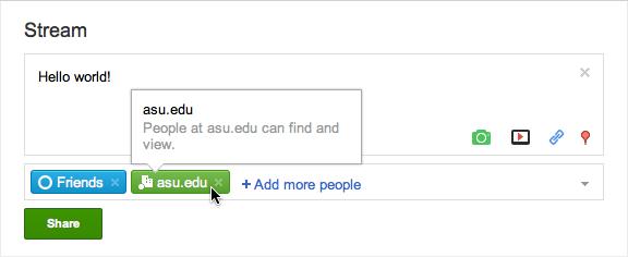 domain Google+ está disponible ahora con Google Apps