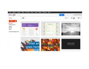 drive Google Docs se actualiza con nuevas fuentes y plantillas