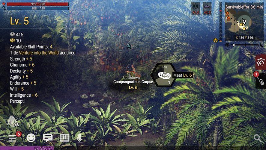 durango screensho Disponible la beta de Durango, un MMO de supervivencia con dinosaurios