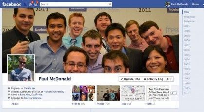 facebook timeline Facebook Timeline será obligatorio para todos los usuarios