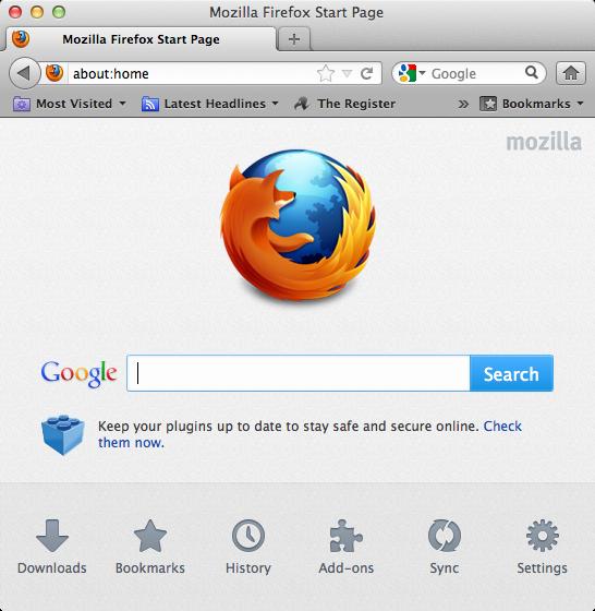 Llega Mozilla Firefox 13, la nueva versión del conocido navegador