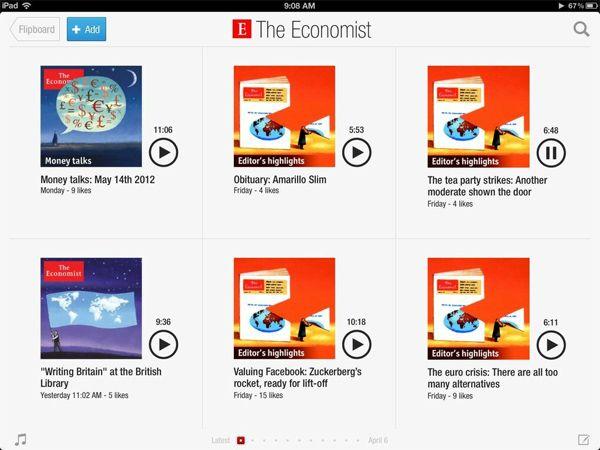 flipboard audio El audio llega a Flipboard en su nueva actualización