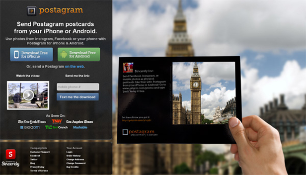 free instagram apps postagr Envia tus felicitaciones navideñas con estas aplicaciones para Android