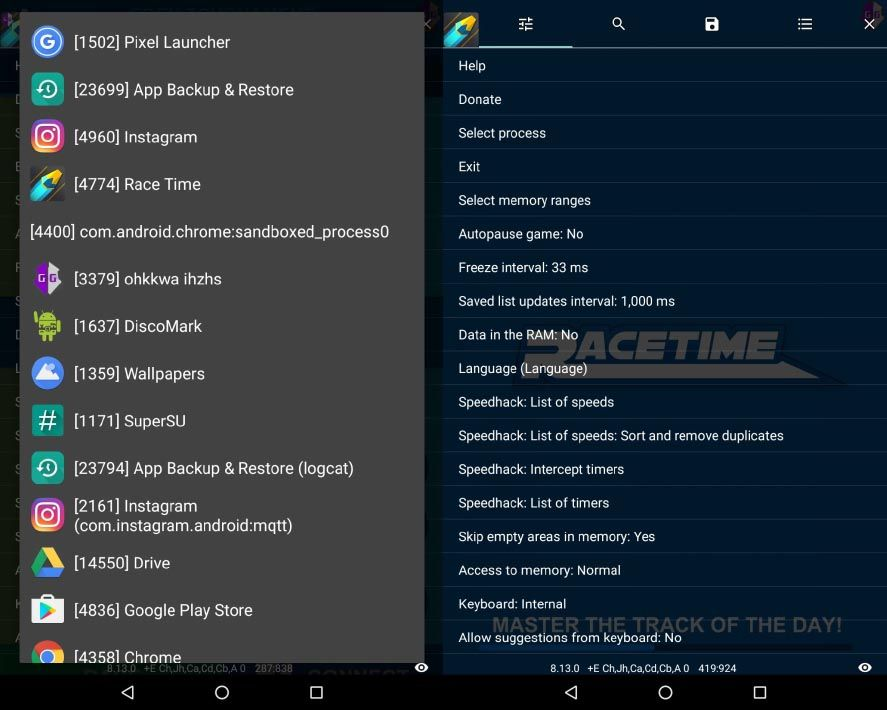 gameguardian screenshot 2 Apps to hack Android games on the rise