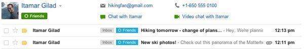 gmail circulos01 Gmail mejora su integración de nuestros círculos en Google+