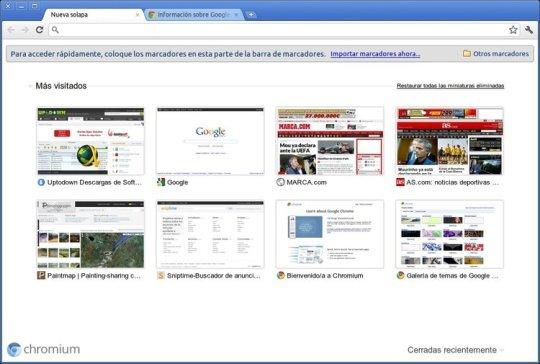 google chrome Google Chrome empieza a ser una de las descargas preferidas para Ubuntu