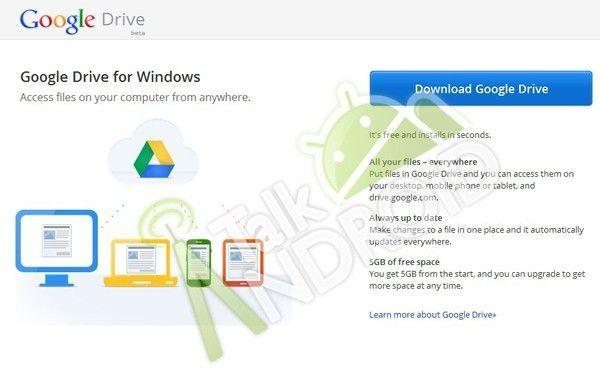google drive1 Google Drive llegará la semana que viene con 5Gb gratis