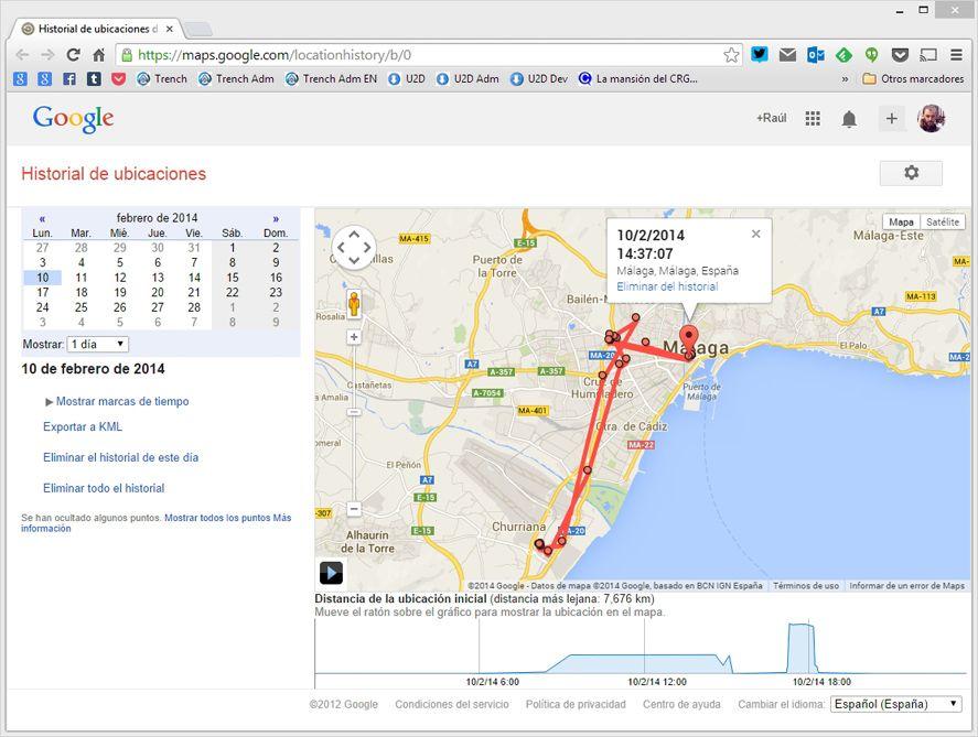google-location-historial
