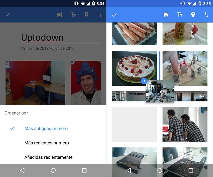 Google Photos 2.0 screenshots