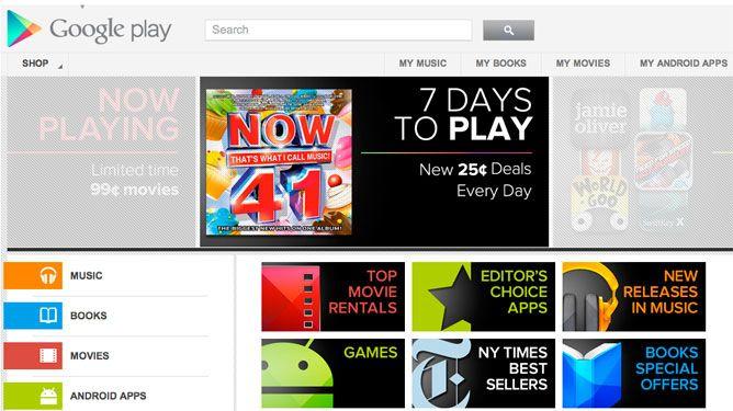 google play Presentan Google Play, el nuevo Android Market