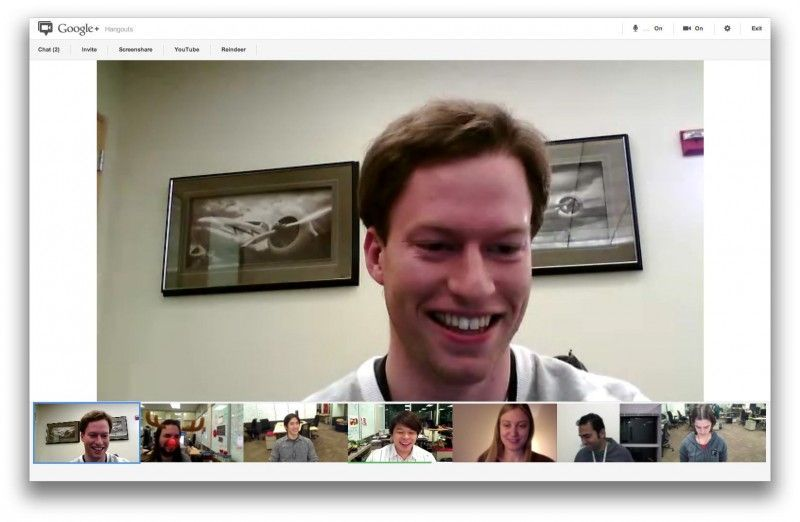 google plus hangouts Google+ actualiza Hangouts, ahora con la función de compartir pantalla