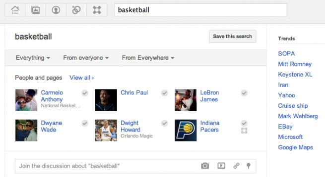 google4 joindiscussion Las nuevas funciones de Google+