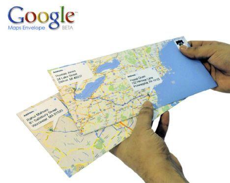 google maps envelope Google Maps se refuerza cerrando un acuerdo con INRIX