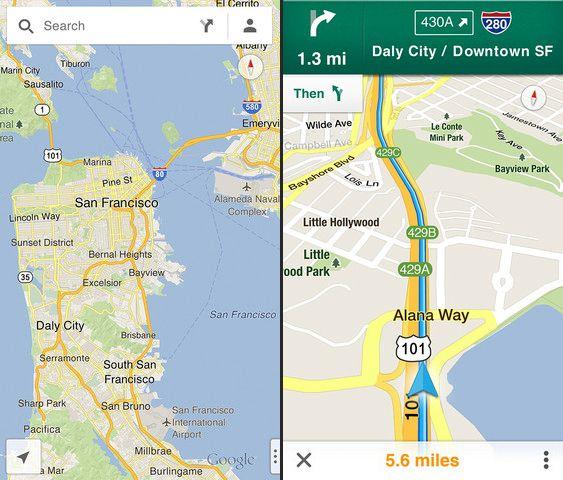 google maps iOS cuerpo Google Maps returns to iOS