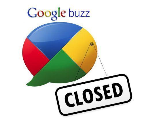 Google anuncia el cierre de Google Buzz