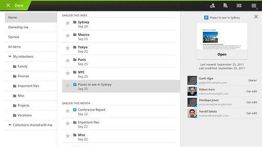 googledocs Google Docs para Android con edición colaborativa en tiempo real
