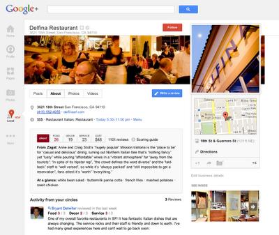 googlelocal Google+ Local, para búsquedas y recomendaciones locales