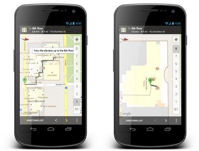 googlemaps01 Google Maps 6.7, ahora con vistas de interior de edificios y ofertas