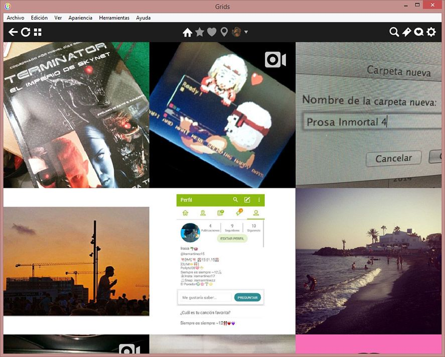 Use Instagram on your Windows or Mac desktop with Grids