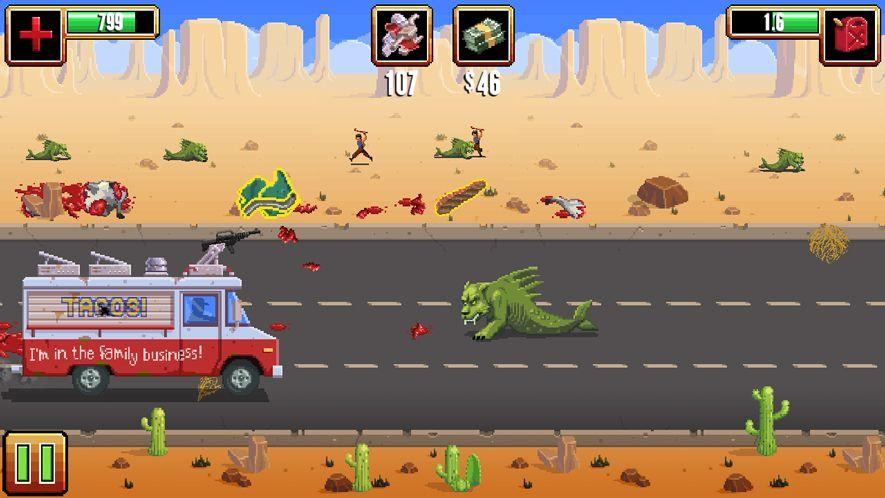 Gunman Taco Truck