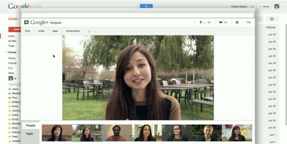 hangouts gmail Llegan las hangouts de Google+ a Gmail
