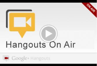 hangsout onair Google+ añade las hangouts públicas