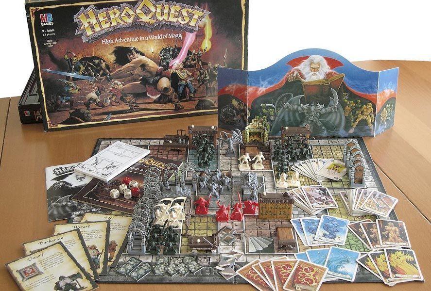 heroquest screen Arcane Quest, dungeon crawler inspirado en el mítico HeroQuest