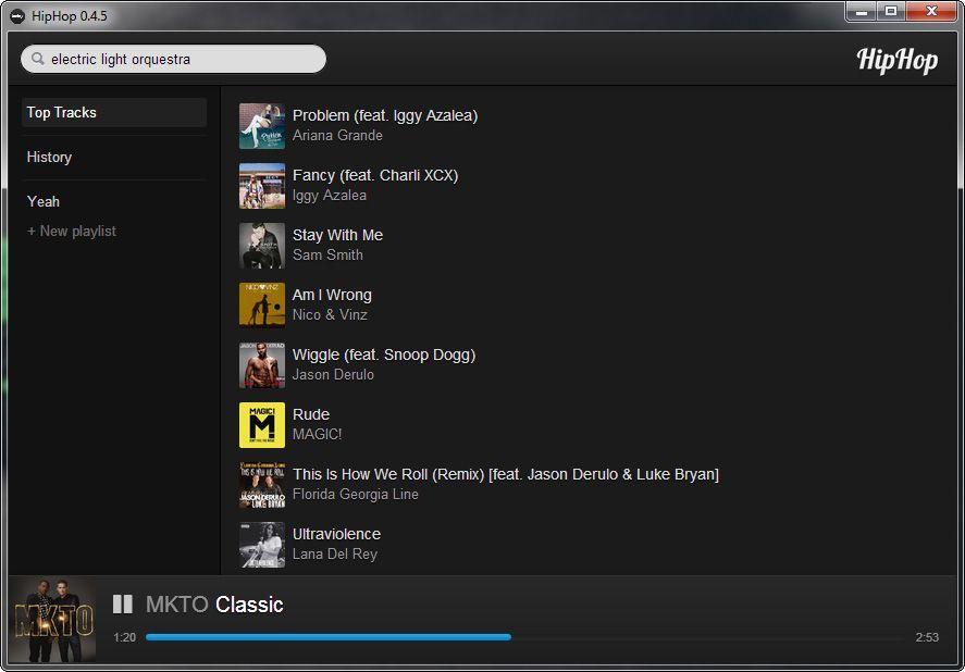 hiphop-screenshot