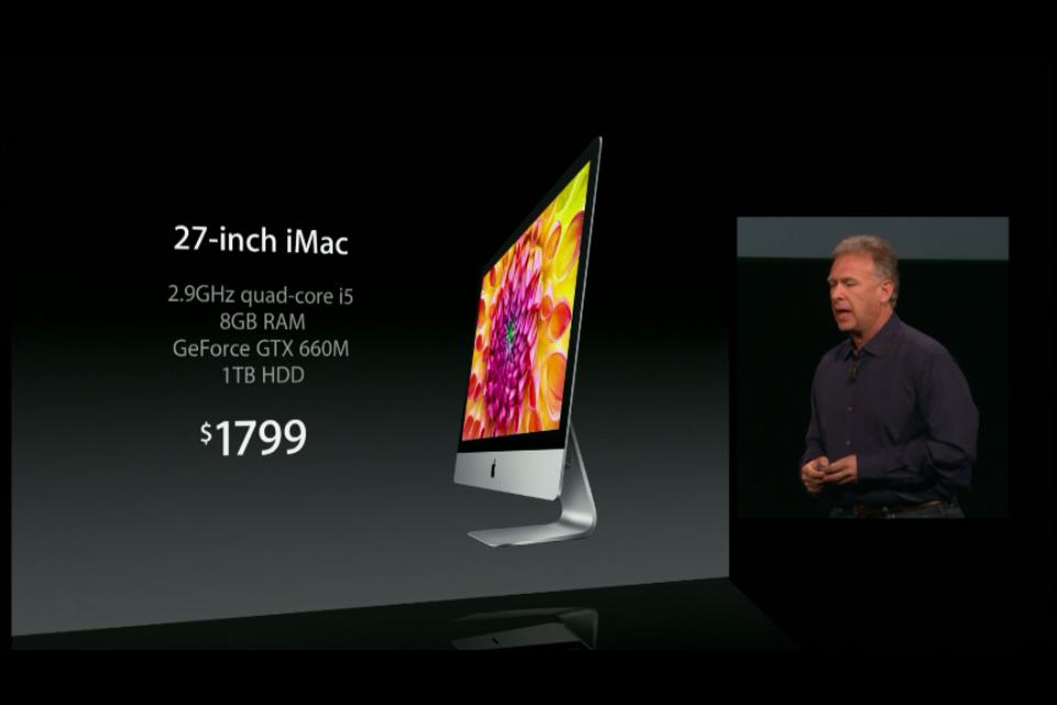 iMac 3 Apple presenta su nueva gama de productos