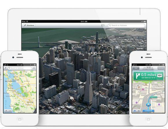 iOS6 mapa Apple presenta iOS6, la nueva versión de su sistema óperativo móvil